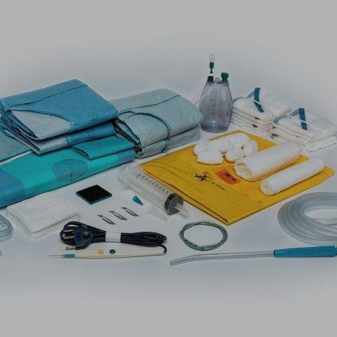 Jednorázové sterilní operační krytí