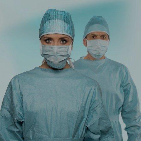 Jednorázové operační oděvy